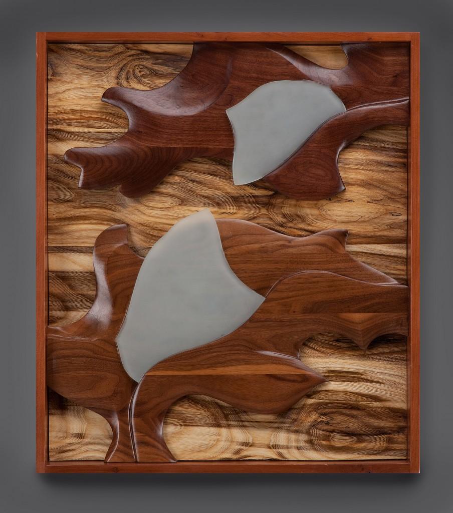 Laux Framed Wall Piece 1