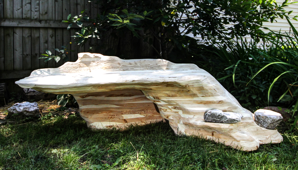 bench for uk club driftwood sale big