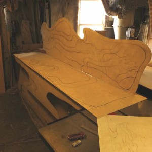 Goff Bench build process