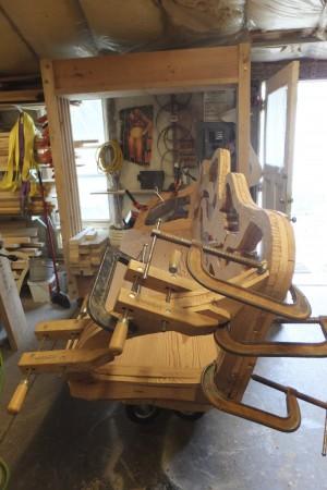 Goff Bench build process