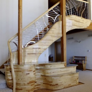 Kubly Peterson Stairway by Aaron Laux Design