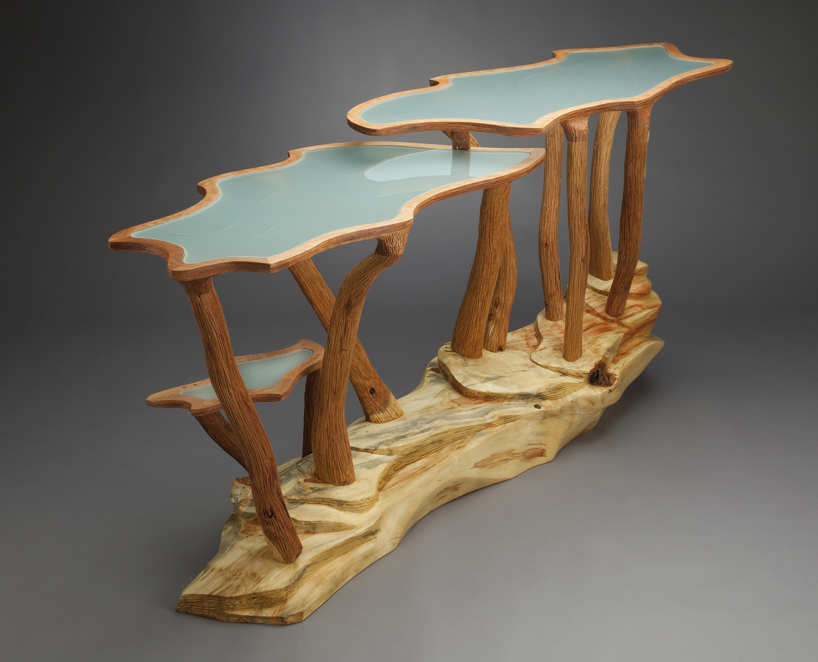 Squash Blossom Table 1 by Aaron Laux