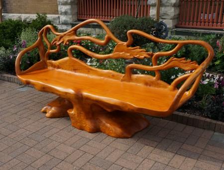 Goff Bench, Aaron Laux Design