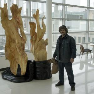 Aaron Laux with Prometheus' Gift
