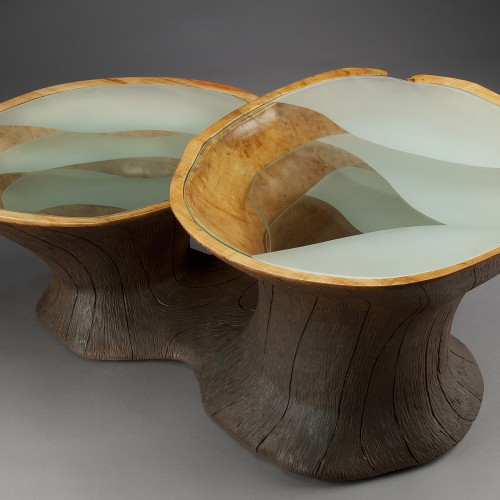 Subterranean Coffee Table by Aaron Laux