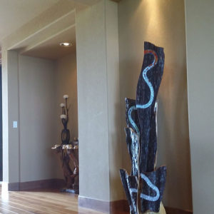 Water's Pathway, installed in home