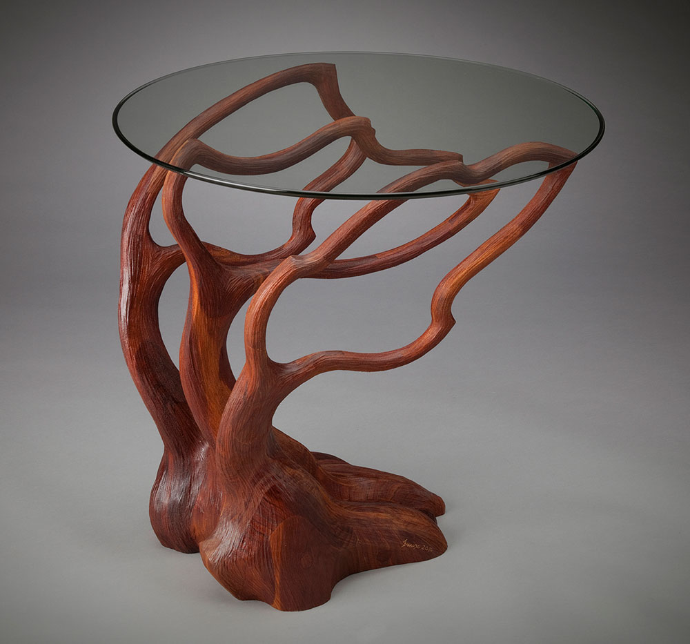 Silhouette End Table