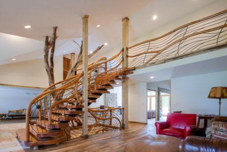 Shapiro stairs, custom staircase