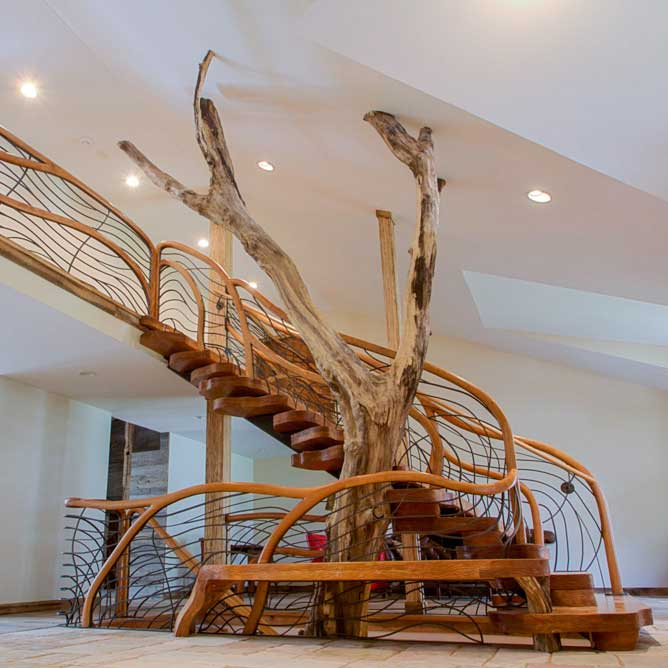 Treehouse Staircase