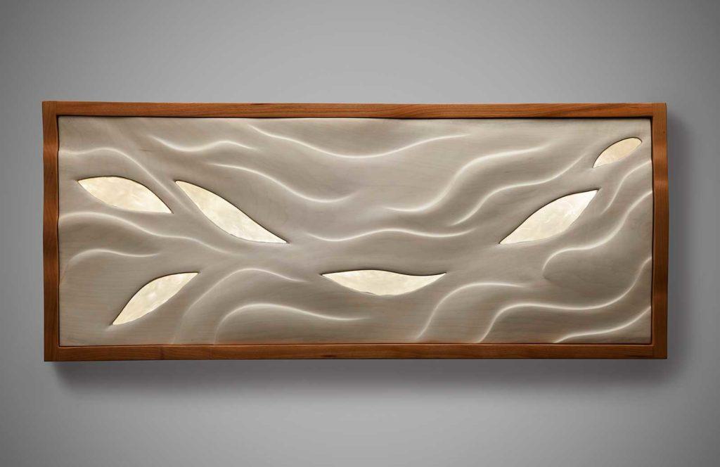 Driftless wall sculpture