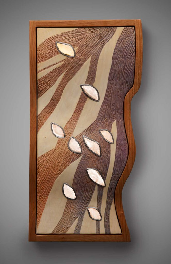 Wind Coarse wall sculpture